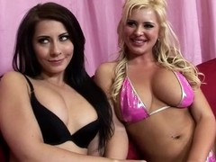 Wazoo affectionate Andi Anderson and Madison Ivy