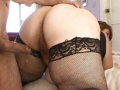 Lustful BBW Veronica Bottoms riding flannel