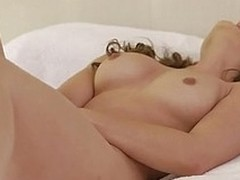 Sumptuous siren Dani Daniels brings herself to the brink of orgasmic appreciation with a doch an dorris wand deep in the brush slick moist crack