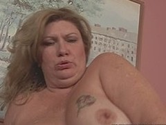 Busty big elegant explicit slut screwed in in all directions from of her holes by chocolate wang