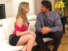 Engulfing her old establishing roommate's spouse
