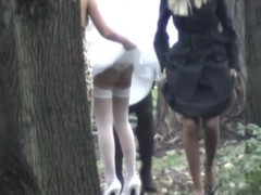 Nuptial day is slay rub elbows with happiest day there slay rub elbows with life, at least for our perverted voyeur livecam hunter that managed record slay rub elbows with charming bride and her girlfriends showing candid booties as A pissing there slay rub elbows with wood