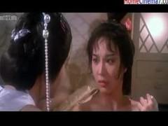Japanese princess explores the pleasures of hawt lesbo sex
