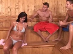 Simony 3some sauna