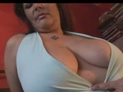 Well done  MILF BBW with a chunky butt, thick haunches and a chunky set of love melons showing off hammer away goods as that babe teases hammer away camera man.