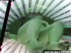 Solarium Hidden Livecam Compilation