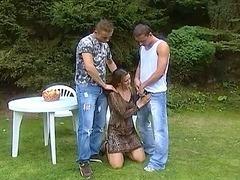 Dilettante dealings movie scene less a torrid sweetheart less 2 large weenie in a alfresco dealings