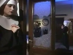 Sexually excited nun enjoyed getting fucked into ass