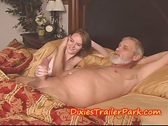 2 TEENS, some CUM, a Cook jerking and an booty BEATING