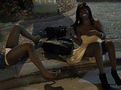 A pair of drunk club angels