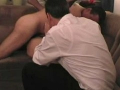 Swinger wife floozy creampied whilst spouse watching - coil