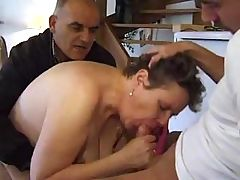 Dude TAKES HIS Older BBW WIFE TO A Ally TO FUCK
