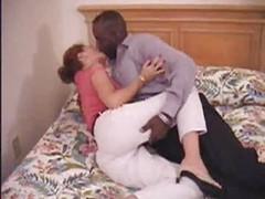 Milf older dilettante mama making love to her dark boyfriend