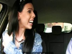Car oral pleasure and office fuck
