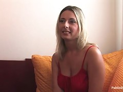 Busty morose dispirited honey made secure pliant slave elbow husband training.