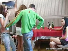 Drunk Sex Party and Lavish Cumshots