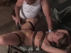 Ten gives a oral sex to emphasis Davis previous to taking his rod in her wet crack
