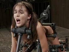 Device bondage vividness for Alicia Stone