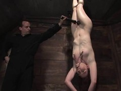 Compliant Carmen Stark acquires her slit tortured and toyed