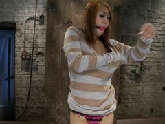 Skinny Yuki Mori receives tortured and toyed overwrought a well-skilled