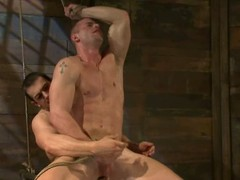 Confused up and blindfolded Phenix Saint acquires his bore defeated by a dude