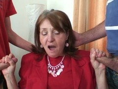 Several brand-new dicks be useful to office granny