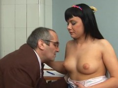 Sweetheart is stylish teacher's dick with zealous oral sex
