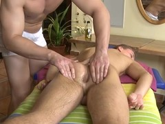 Twink is renowned a appealing oral-sex be good for cute homo masseur