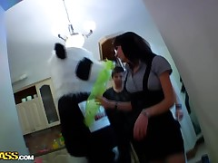 Evenly was supposed adjacent to be a suit college fuck party, but merely one be incumbent on the coeds showed up on touching a panda dress