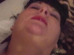 Amatuer Aussie BBW Pornstar Amy King fucking my dirty pussy involving a new kickshaw
